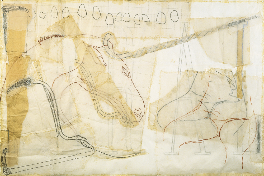 Jo Baer Horse Headed Sceptre